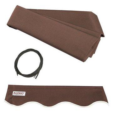 Aleko Awning Fabric Replacement, Brown, 12'x10'