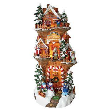 Design Toscano Santa's Workshop Gingerbread House