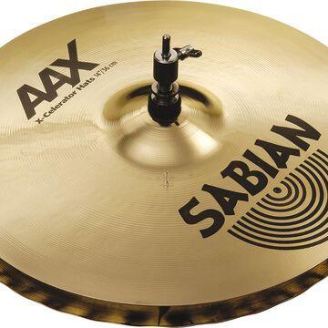 AAX X-celerator Hi-Hat Cymbals Brilliant 14 in.