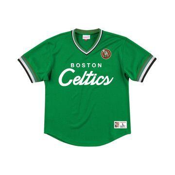 Men's Boston Celtics Special Script Mesh V-Neck Jersey