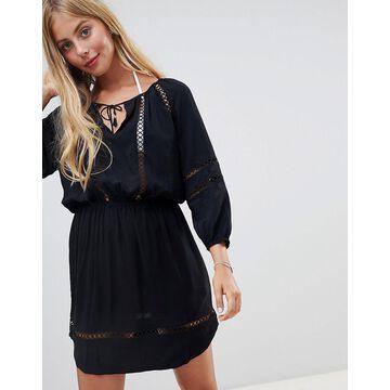 Seafolly lace insert beach dress