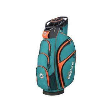 Wilson NFL Cart Golf Bag, Miami Dolphins