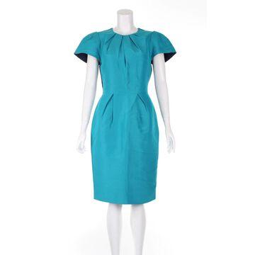 Roksanda Turquoise Cotton Dresses
