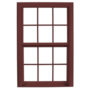 ReliaBilt 3900 Vinyl Replacement Brick Red Exterior Double Hung Window (Rough Opening: 32-in x 73.75-in; Actual: 31.75-in x 73.5-in)