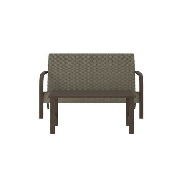 Outdoor Living Smartwick Patio Loveseat And Coffee Table Set