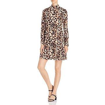 Cupio Leopard-Print Shift Dress