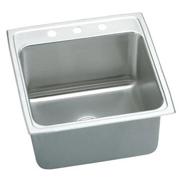 Elkay, Kitchen Sink With 3 Holes, 22