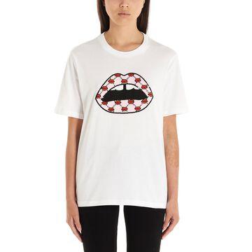 Markus Lupfer sequin Lip T-shirt