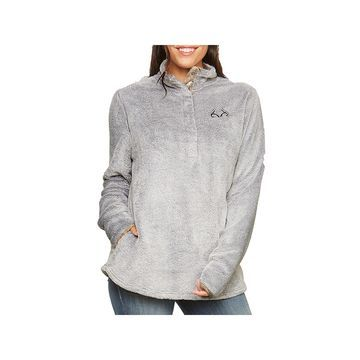 Realtree Womens High Neck Long Sleeve Sweatshirt