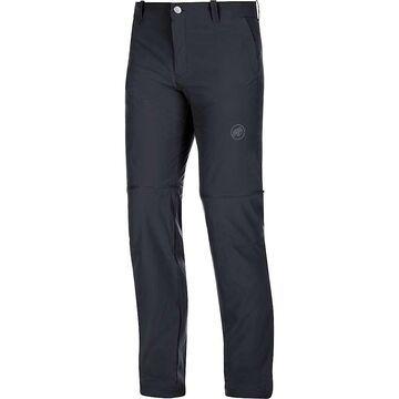 Mammut Men's Runbold Zip Off Pant - 32 - Black