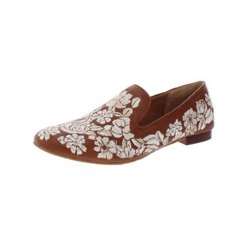Patricia Nash Womens Illumina Loafers Leather Embroidered