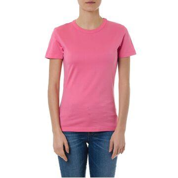 Maison Margiela Pink Basic Cotton T Shirt