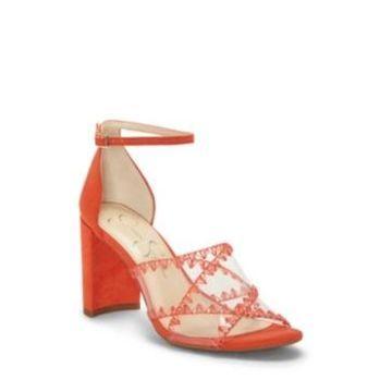 Jessica Simpson Nikaye Block Heel Sandals Women's Shoes