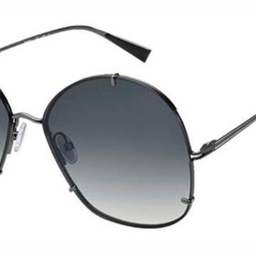 Max Mara MM HOOKS V81/9O Womenas Sunglasses Grey Size 61