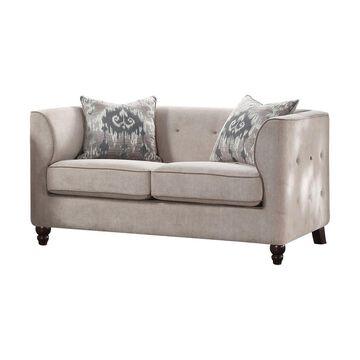 Acme Furniture Cyndi Loveseat Light
