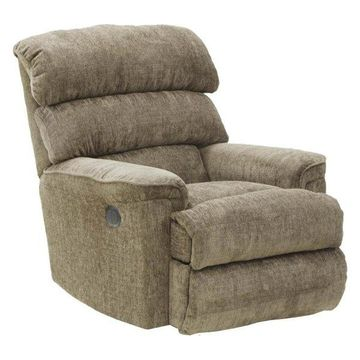 Chaise Rocker Recliner in Mocha