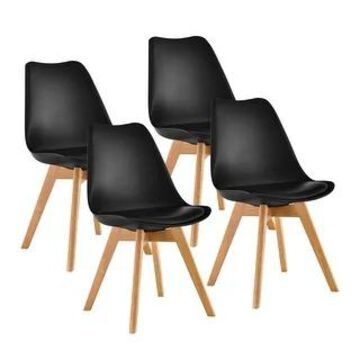 Porthos Home Elle Modern Dining Chairs (Set of 4)