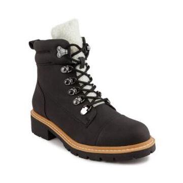 London Fog Women's Dennis Fashion Hiker Ankle Boot Women's Shoes