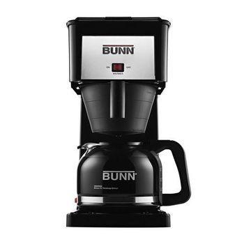 BUNN GRB Velocity Brew 10-Cup Home Coffee Brewer Black