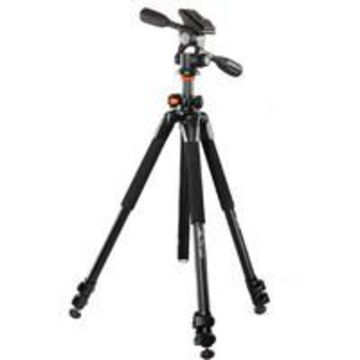 Vanguard Alta Pro 263AP 3-Section Aluminum Tripod with PH-32 Pan Head, Load Capacity 11.02 lbs