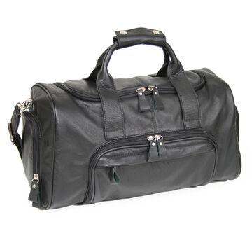 Royce Leather Genuine Leather 17-inch Sports Duffel Bag