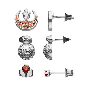 Star Wars BB-8 Stud Earring Set