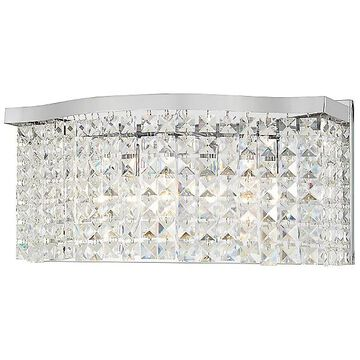 Concentus Vanity Light by Minka-Lavery - Color: Silver - Finish: Chrome - (4803-77)
