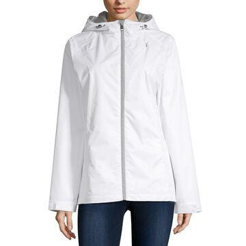 Zeroxposur Hooded Water Resistant Lightweight Raincoat