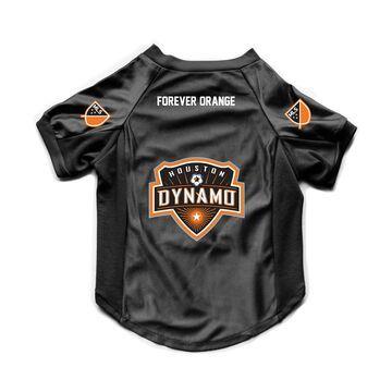 Houston Dynamo Little Earth Premium Pet Stretch Jersey - Black