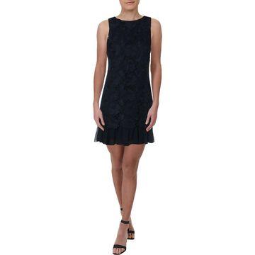 Eliza J Womens Lace Sleeveless Shift Dress