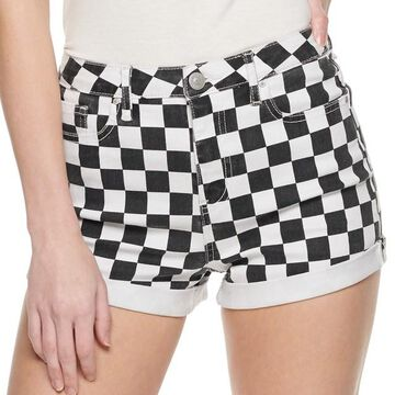 Juniors' Almost Famous Printed Shorts