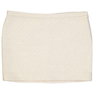 Mauro Grifoni White Wool Skirts