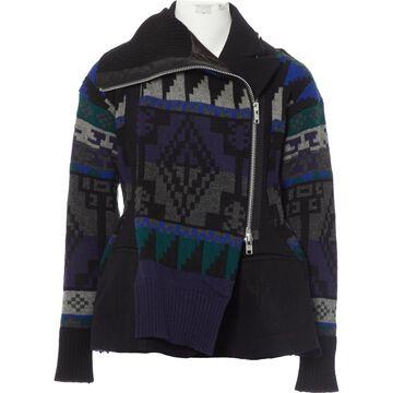 Sacai \N Black Wool Jackets