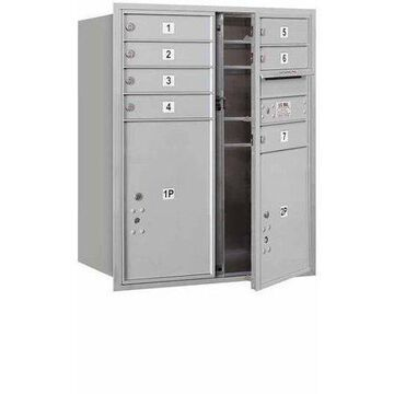 Salsbury Industries 4C Horizontal Mailbox 10-Door High Unit (37.5
