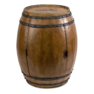 IMAX Dining Tables - Wood Napa Barrel Table