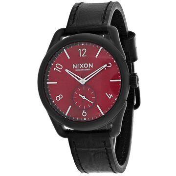 Nixon Women's C39 Red Dial Watch - A459-1886