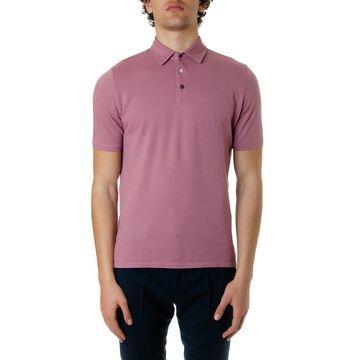 Zanone Coral Color Polo Shirt