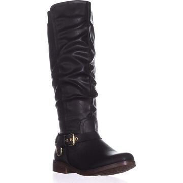 Xoxo Womens Mauricia Round Toe Knee High Fashion Boots