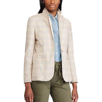 Women's Chaps Plaid Blazer