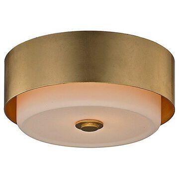 Troy Lighting Allure Round Flushmount Light - Color: Gold - C5661