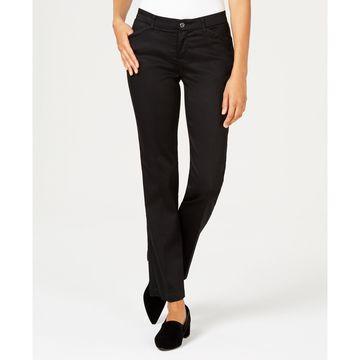 Petite Flex Motion Straight-Leg Jeans