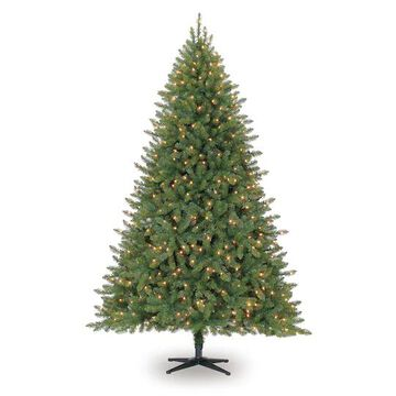 7.5Ft Pre-Lit Hartford Pine Artificial Christmas Tree, Clear Lights by Ashland   Michaels