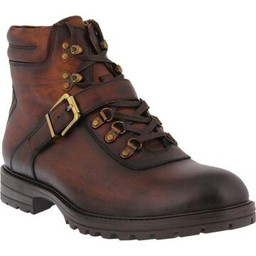 Spring Step Men's Mike Ankle Boot Brown Leather