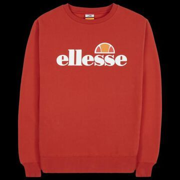 Ellesse Agata Crew Sweatshirt - Red / White