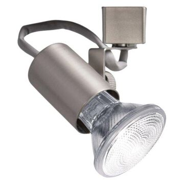 WAC Lighting Line Voltage Track Fixture in Brushed Nickel for L Track