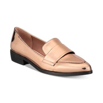 Bar III Womens Involve Pointed Toe Loafers