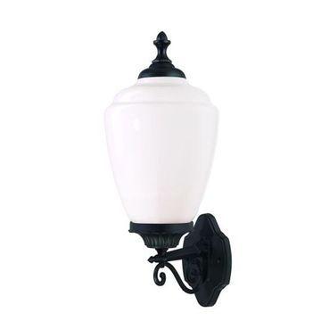 Acclaim Lighting Acorn Collection Wall-Mount 1-Light Outdoor Matte Black Light Fixture (Black)