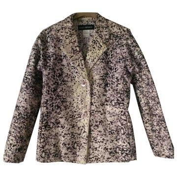 Issey Miyake Purple Cotton Jackets