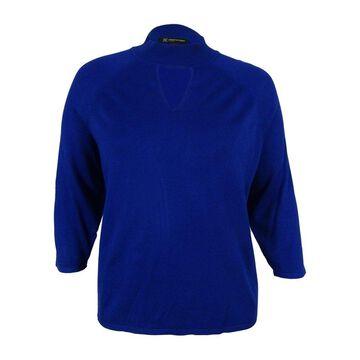 INC International Concepts Women's Mock Turtleneck Sweater