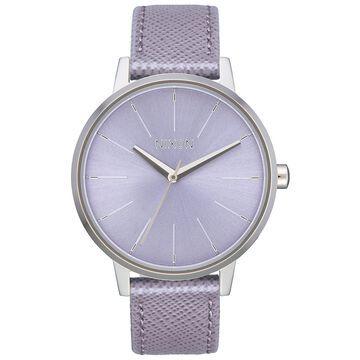 Women's Kensington Leather Strap Watch 37mm